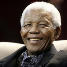'Former President Nelson Mandela attends the sixth Annual Nelson Mandela lecture in Kliptown, in this July 12, 2008 file photo. The Nelson Mandela foundation sent out a statement on Wednesday saying f