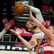 NBA: Washington Wizards at Los Angeles Clippers