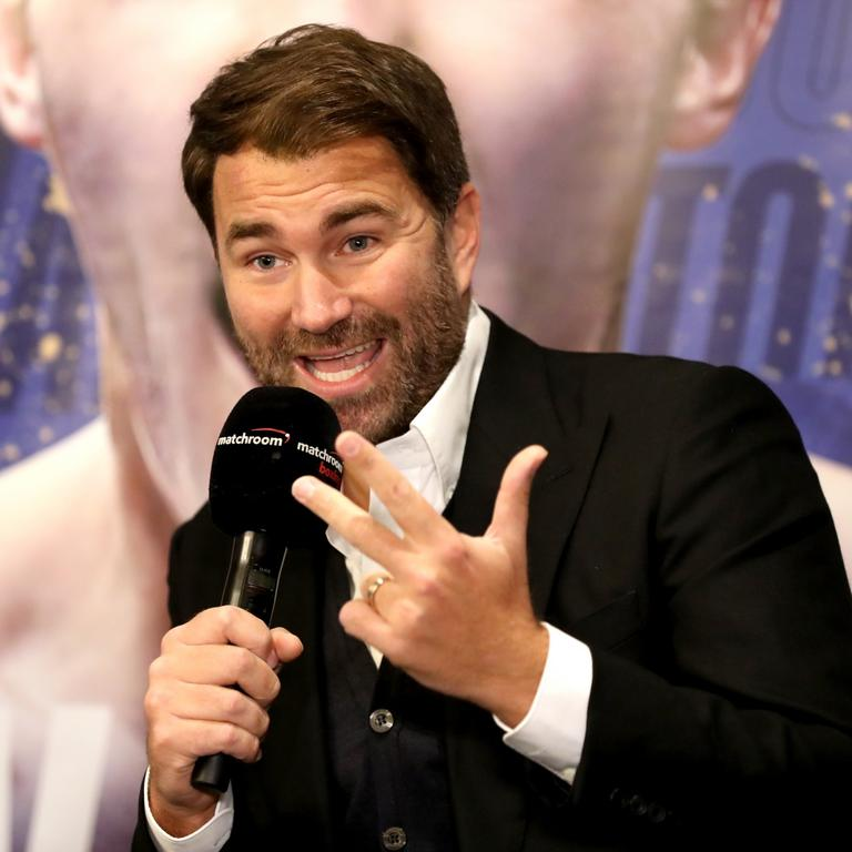 Eddie Hearn File Photo