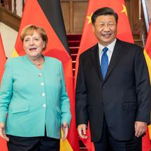 Chancellor Merkel in China