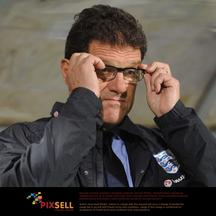 'England manager Fabio Capello during the Euro 2012 Group G Qualifying match at the City Stadium, Podgorica, Montenegro. Photo: Press Association/Pixsell'