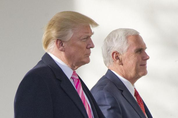 Donald Trump i Mike Pence