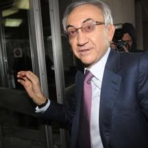 'Serbia's tycoon Miroslav Miskovic arrives at the Interior Ministry in Belgrade on December 3, 2012. One of Serbia's richest men, Miroslav Miskovic who runs the Delta Holding company, was questioned