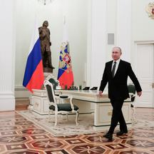 Russia's President Putin meets with Kyrgyzstan's President Japarov in Moscow
