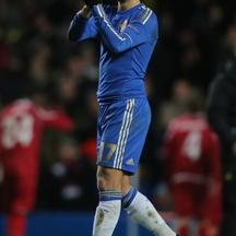 'Chelsea\'s Eden Hazard acknowledges the crowd after the final whistlePhoto: Press Association/PIXSELL'