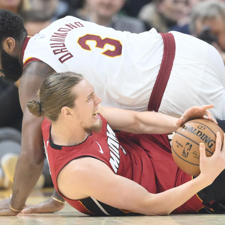NBA: Miami Heat at Cleveland Cavaliers