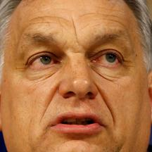 FILE PHOTO: Hungary's Prime Minister Viktor Orban speaks during a news conference after a European People Party Political Assembly on the Hungary's Fidesz party in Brussels