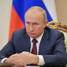 Russian President Putin meets with Tula Region Governor Dyumin