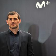 Iker Casillas presents 'Colgar las Alas'.