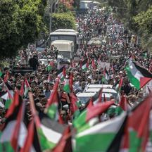 Day of Rage demonstration in Gaza