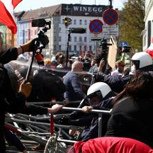 Protest against COVID-19 measures in Vienna
