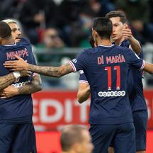 Ligue 1 match between Paris Saint Germain and Stade de Reims - Reims