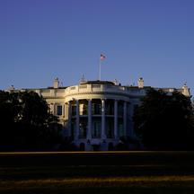 FILE PHOTO: The White House is seen at sunset in Washington