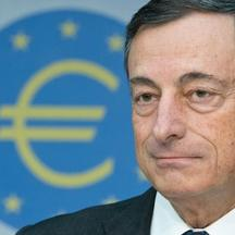 'Mario Draghi, President of the European Central Bank (ECB), takes part in the ECB press conference in Frankfurt Main, Germany, 01 August 2013. The interest rate has remained at the record low level o
