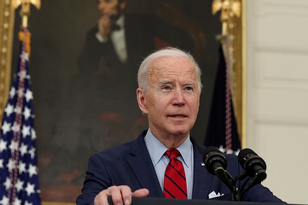U.S. President Joe Biden comments on the shooting in Colorado at the White House in Washington