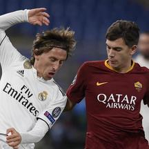 (SP)ITALY-ROME-SOCCER-UEFA CHAMPIONS LEAGUE-ROMA VS REAL MADRID
