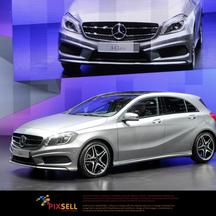 \'The new Mercedes-Benz A-Class is presented during the first press day of the International Motor Show in Geneva, Switzerland, 06 March 2012. The 82nd Geneva Motor Show runs from 08 to 18 March 2012.