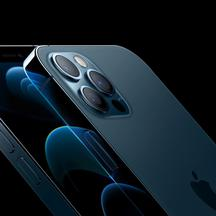 Apple's iPhone 12 Pro and iPhone 12 Pro Max are seen in an illustration released in Cupertino