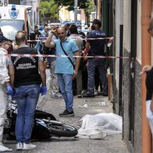 Camorra murder in the Neapolitan area