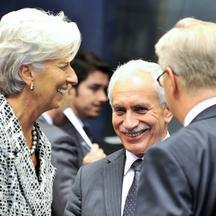 vassos shiarly,christine lagarde