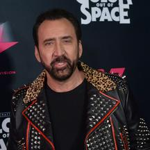 "Nicolas Cage attends the ""Color Out of Space"" premiere in Los Angeles"