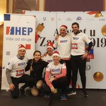 Zaposlenici HEP-a na Advent Run utrci u Zagrebu