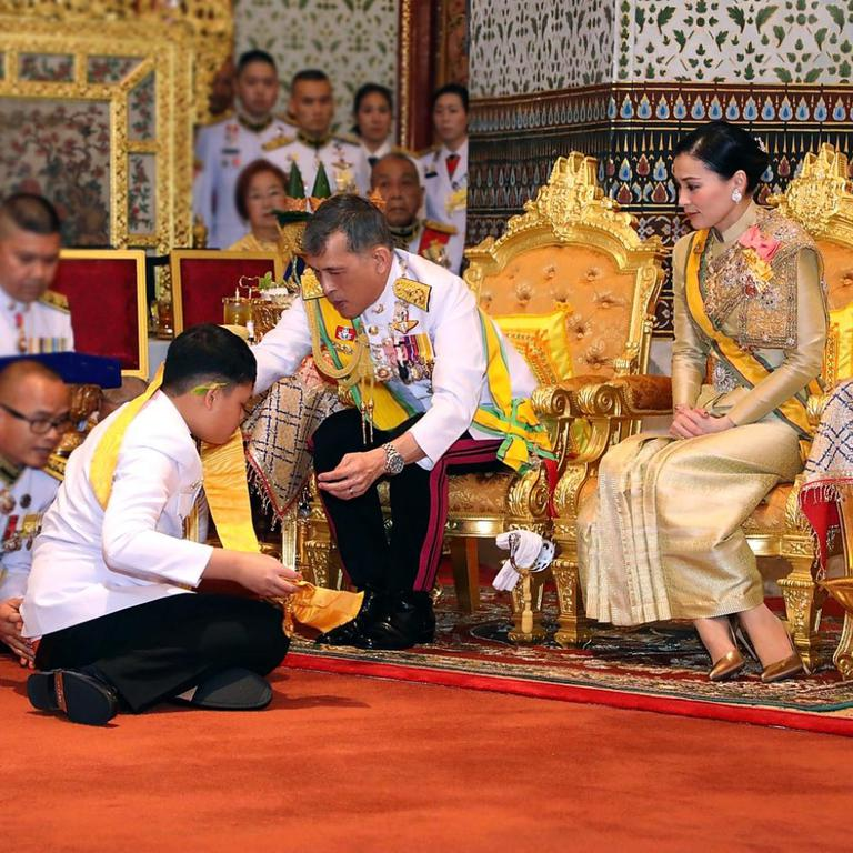 THAILAND-BANGKOK-ROYAL FAMILY-TITLES
