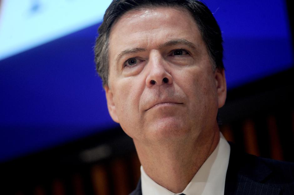 Bivši direktor FBI-a James Comey | Autor : Van Tine Dennis/Press Association/PIXSELL