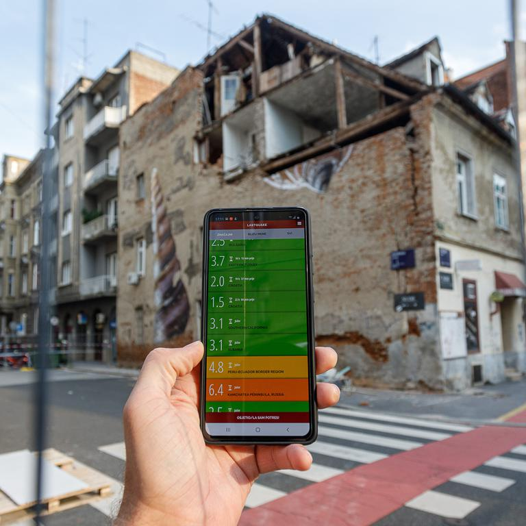 Earthquakes for mobile - aplikacija za praćenje potresa