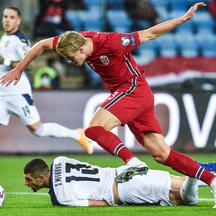 Euro 2020 Qualification Play off - Norway v Serbia