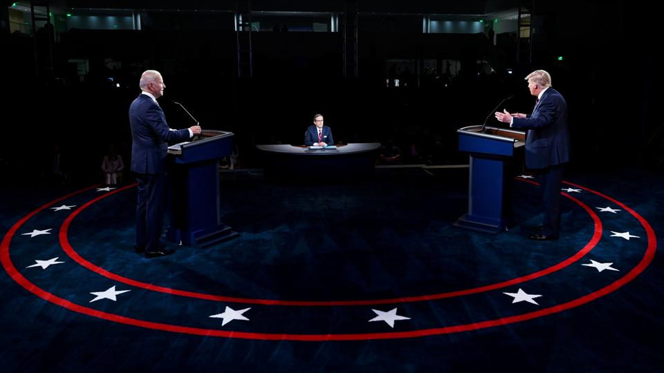 FILE PHOTO: U.S. presidential election debate in Cleveland, Ohio