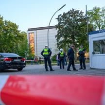Attack near the Hamburg Synagogue