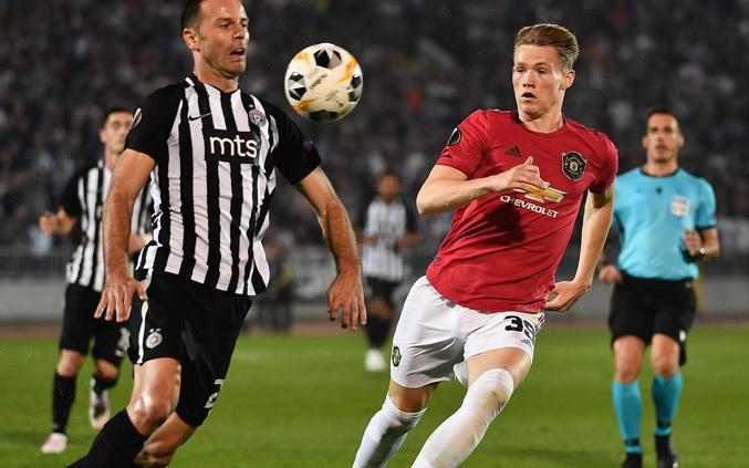 Manchester United - Partizan