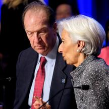 David Malpass i Christine Lagarde