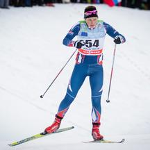 SLO, FIS Weltcup Langlauf, Planica16.01.2016, Ski Stadion, Planica, SLO, FIS Weltcup Langlauf, Planica, Damen, 1,2 km Sprint, Qualifikation, im Bild Vedrana Malec (CRO) // during Qualification of Ladies 1,2 km Sprint of FIS Ski Cross Worls Cup at Ski Stad