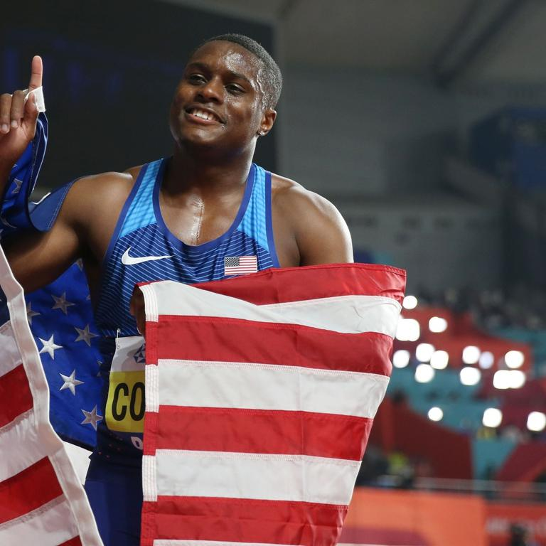 (SP)QATAR-DOHA-CHRISTIAN COLEMAN-BANNED-FILES