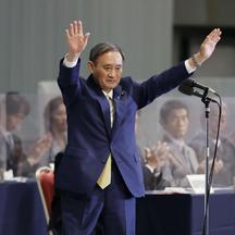 Suga elected new head of Japan's LDP