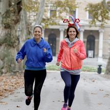 Doris Pinčić Rogoznica i Ashley Colburn pripremaju se za Advent Run