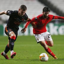 Europa League - Group D - Benfica v Rangers
