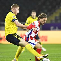 UEFA Nations League - League A - Group 3 - Sweden v Croatia
