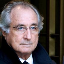 FILE PHOTO: Accused swindler Madoff exits the Manhattan federal court house in New York