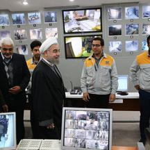 Hassan Rouhani Visits The Bushehr Nuclear Power Plant -  Bushehr