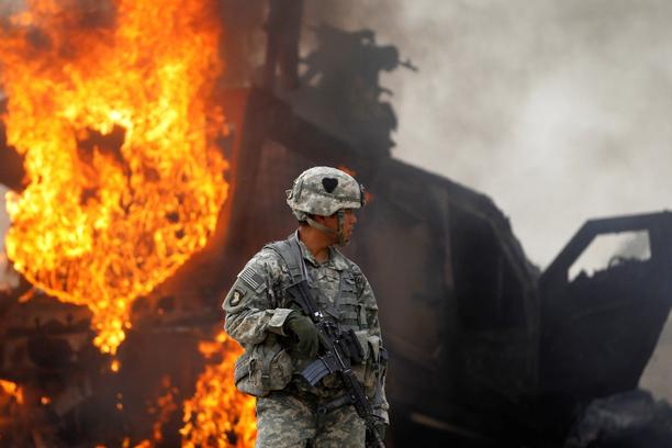 FILE PHOTO: U.S. troops to withdraw from Afghanistan