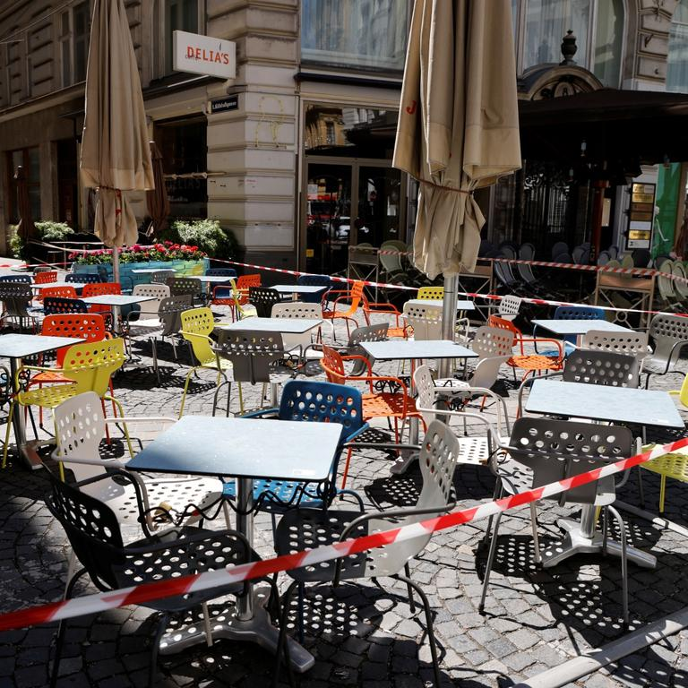 Restaurants and bars prepare to reopen in Vienna