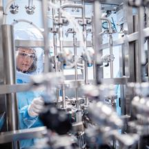 Production of Pfizer-BionTech COVID-19 vaccine in Marburg