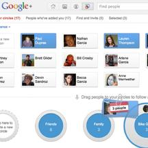 'A screen shot of the Google Plus social network is shown in this publicity photo released to Reuters June 28, 2011. Google Inc, frustrated by a string of failed attempts to crack social networking, d