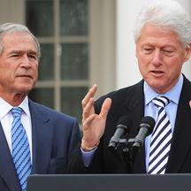 George Bush i Bill Clinton