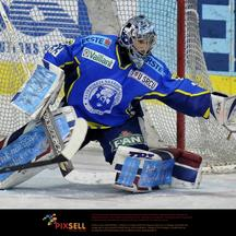 \'11.03.2010, Dom sportova, Zagreb, CRO, EBEL, KHL Medvescak Zagreb vs EC Red Bull Salzburg, im Bild Robert Kristan, 32, KHL Medvescak Zagreb,  Foto: nph /  Matic Klansek Velej *** Local Caption *** F