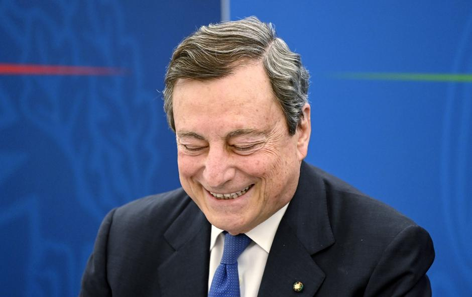 Mario Draghi | Autor : EXPA/PIXSELL