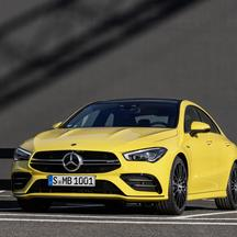 Mercedes CLA 35 AMG 4Matic Coupe.